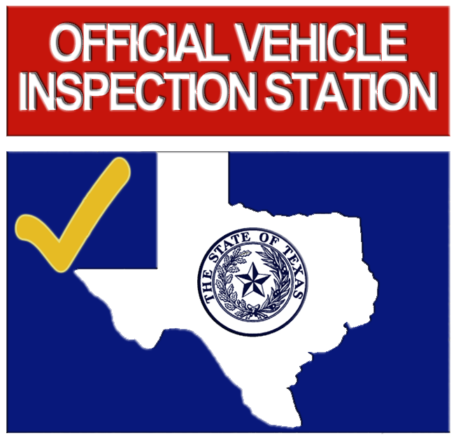 Texas Vehicle inspection logo